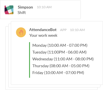 shift management slack