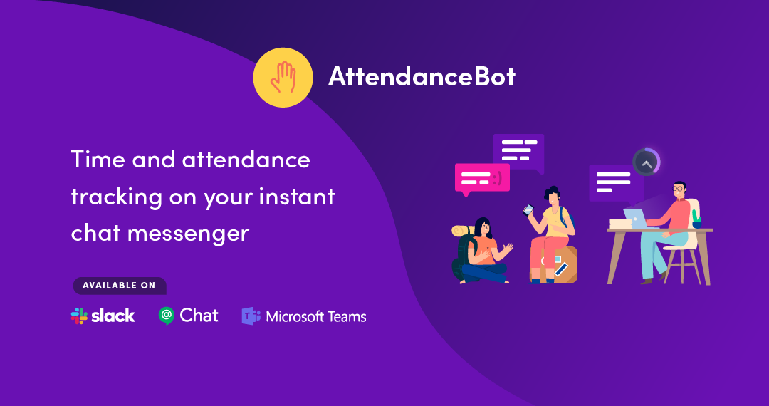 AttendanceBot - Attendance and Time Tracking